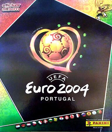 PaniniUefa Euro Portugal 2004