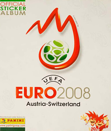 PaniniUefa Euro Austria Suiza 2008