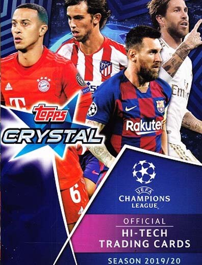 Topps Crystal Hi-Tech 2019-20