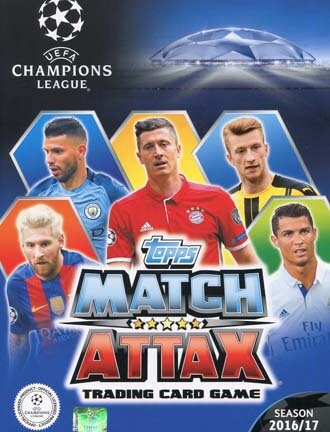 Match Attax Champions League 2016-17