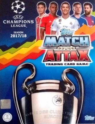 Match Attax Champions League 2017-18