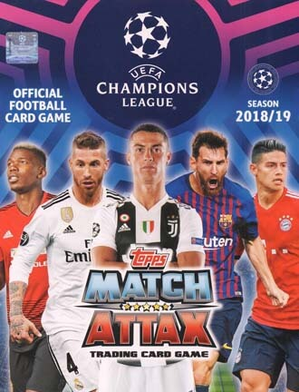 Match Attax Champions League 2018-19