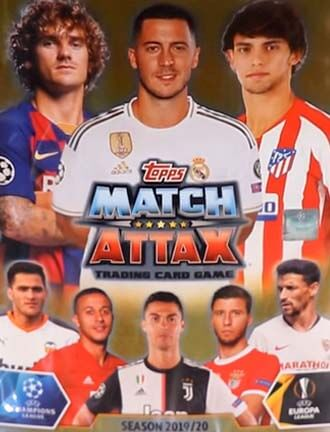Match Attax Champions Europa League 2019-20