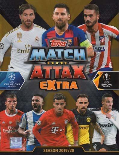 Match Attax Extra 2019-20