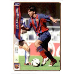 Messi Rookie Card Barcelona 617 Leo Messi