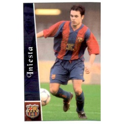 Iniesta Rookie Card Mundicromo 2003