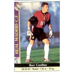 Iker Casillas Real Madrid Mundicromo 2000