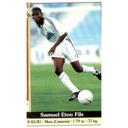 Samuel Eto'o Real Madrid Mundicromo 2000