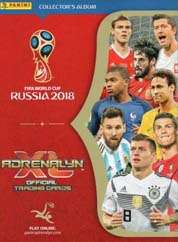Adrenalyn XL Russia 2018