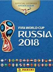 Panini World Cup Russia 2018
