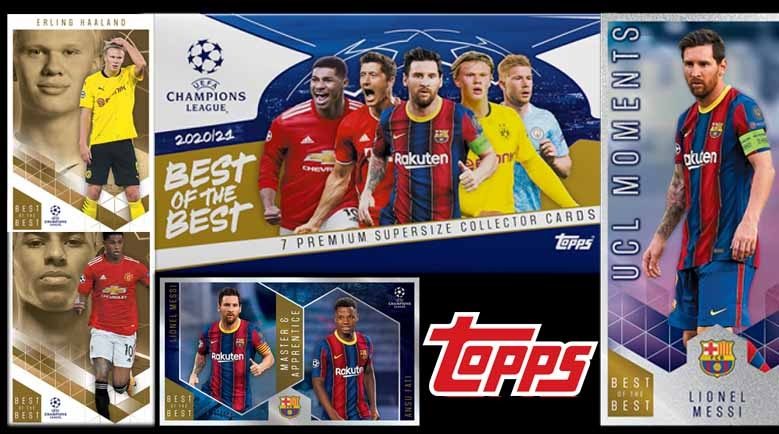 Topps Best Of The Best UCL 2020-21