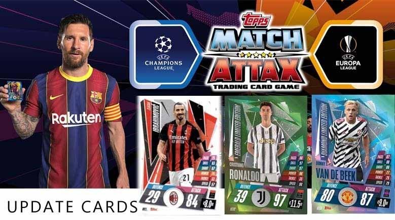 Topps Match Attax Champions League 20-21 Update