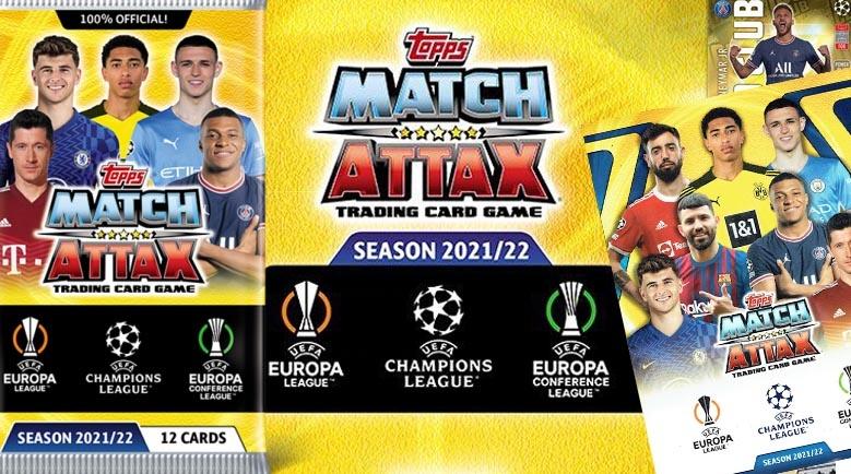 Topps Match Attax Champions League 21-22