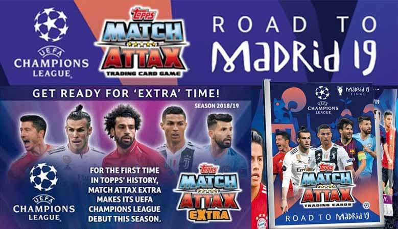 Match Attax Road To Madrid 2019