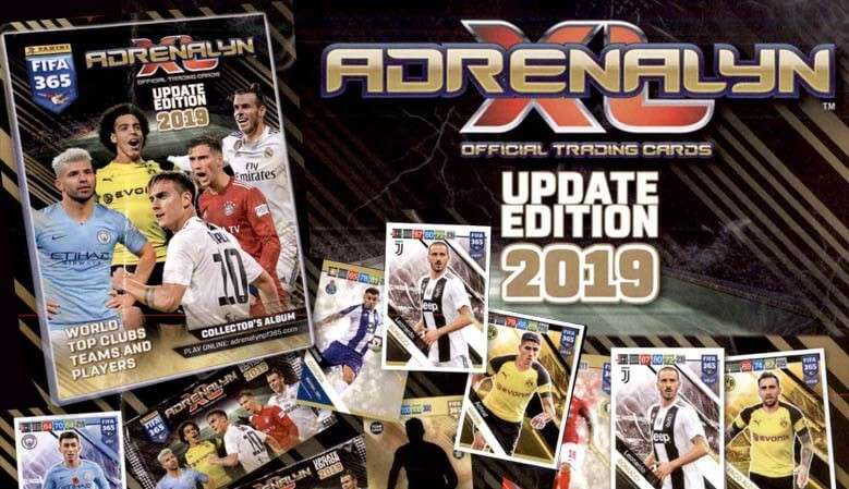Adrenalyn XL Fifa 365 2019 Update Edition