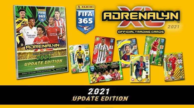 Adrenalyn XL Fifa 365 Update Edition 2021