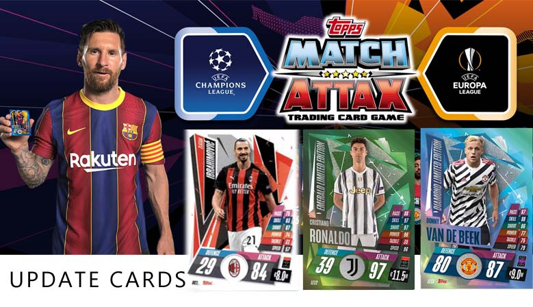 Topps Match Attax Champions League 20-21 Update
