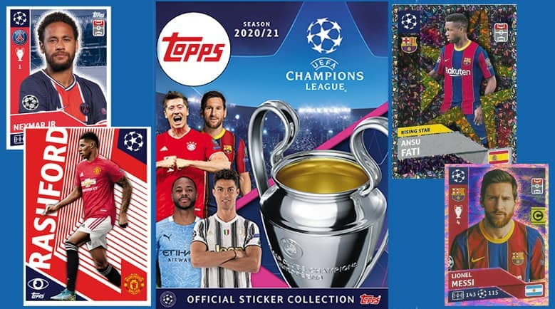Topps Champions League 2020-21