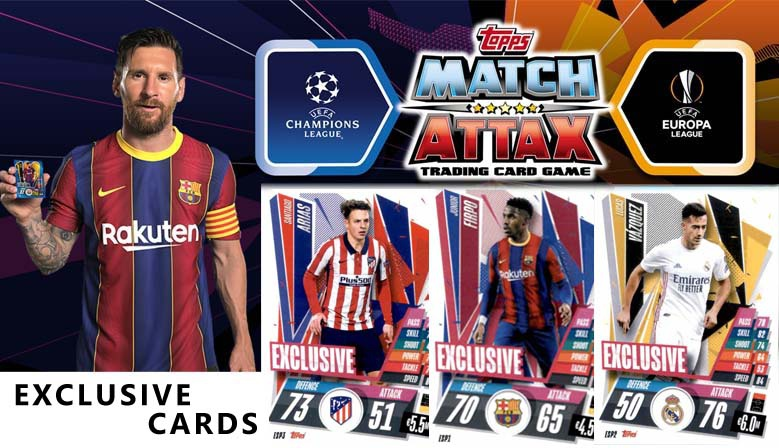 Topps Match Attax Champions League 20-21 Exclusive Cards