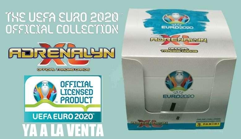 Caja Adrenalyn XL Uefa Euro 2020