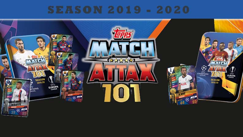 Topps Match Attax 101 Season 2019-20