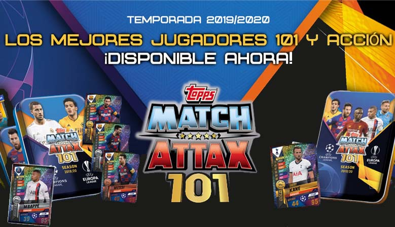 Topps Match Attax 101 Temporada 2019-20
