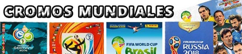 Cromos Trading Cards Mundiales World Cup